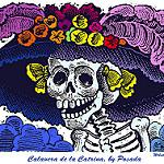 """""""Lady of the Dead"""" or La Calavera Catrina."""